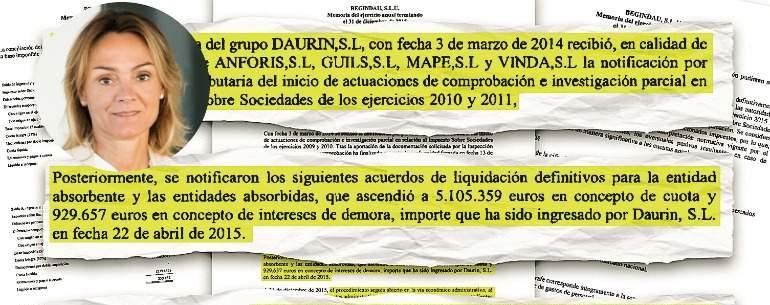 Actualidad Actualidad Hacienda reclama 6,03 millones a la presidenta de Coca-Cola European