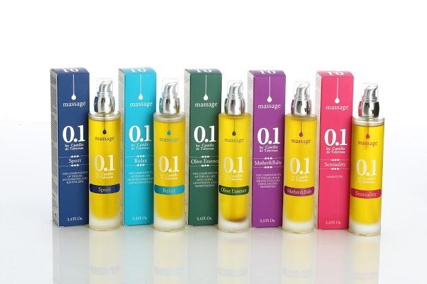 Aceite Aceite Castillo de Tabernas lanza una gama de aceites de oliva virgen para masajes