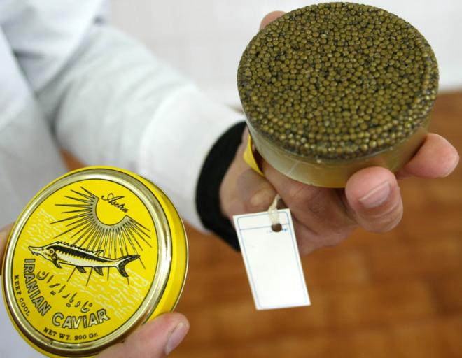 Caviar Caviar Irán acusa a Israel de destruir su caviar en el Mar Caspio