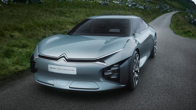 Automoviles Automoviles Citroën CXperience Concept: el confort más exclusivo
