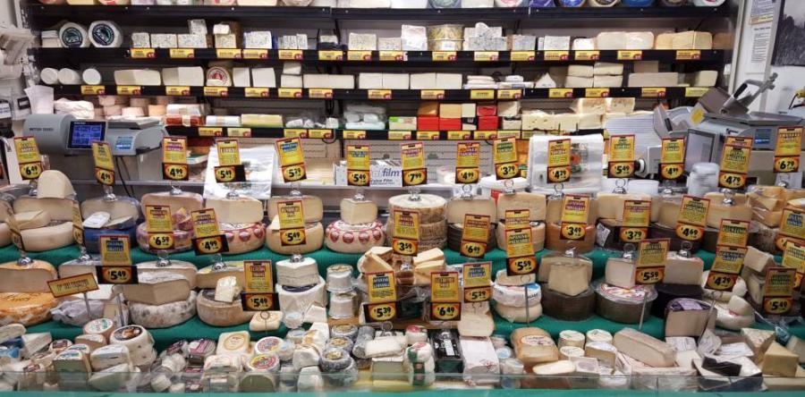 Quesos Quesos EE UU saborea su queso artesano