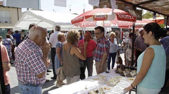 Quesos Quesos La Feria del queso de Sardón tendrá productos de toda España