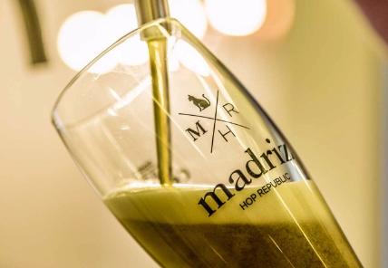 Cerveza Cerveza La cerveza de Madriz, Es Moda