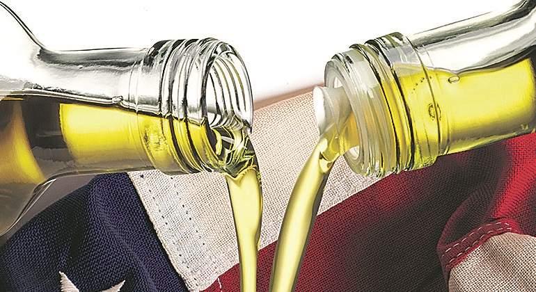 Aceite Aceite España supera por primera vez a Italia en la venta de aceite a EEUU